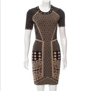 Torn by Ronny Tobo   NWT Patterned Knit Dress